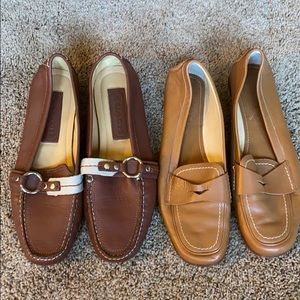 Coach Loafers-2 pairs